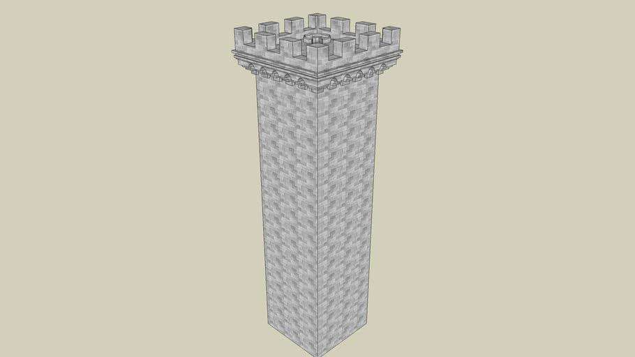 Castle Tower 8 (Square)