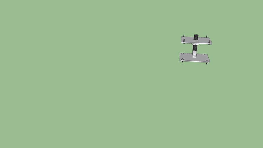 Patka pilire kotevní M24 x 130 x 130 v 150