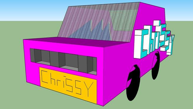 chrissy's car