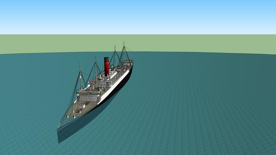 RMS Carpathia Sinking (Part 1)