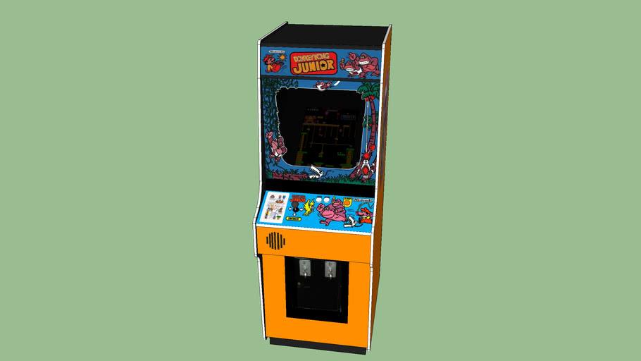 Donkey Kong Junior Arcade Game Orange 3d Warehouse
