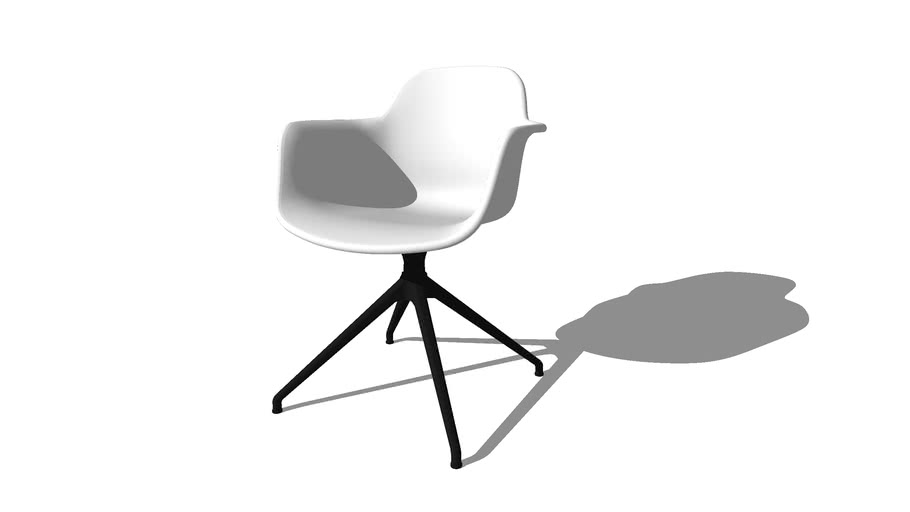 Arena Chair, 4 Star, designed by Hans Thyge & Co, produced by Icons of Denmark