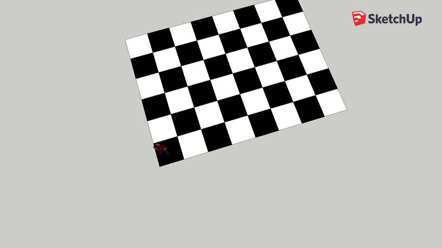 asymetrical chessboard