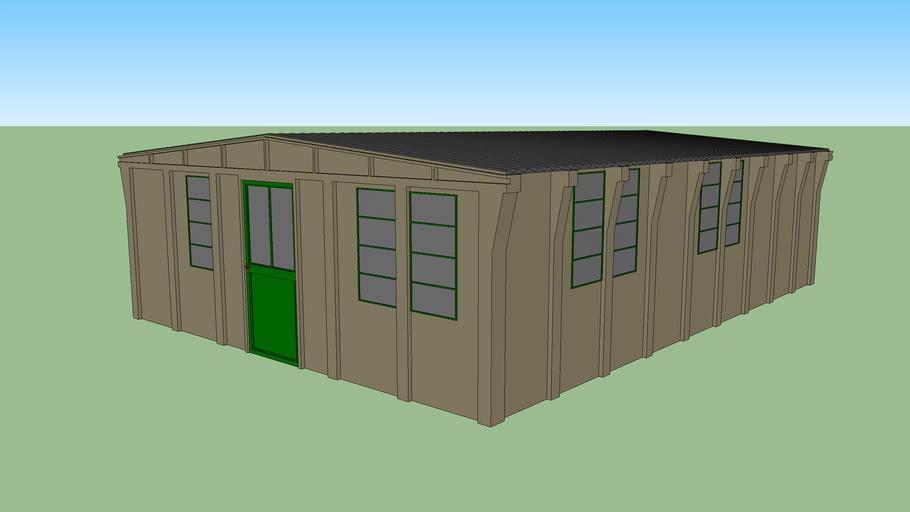British Concrete Federation Hut
