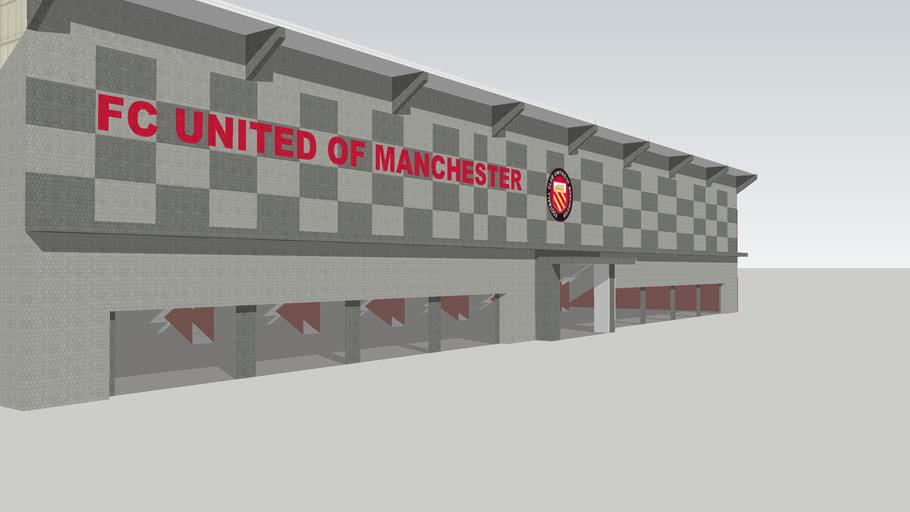 MAIN STAND OF FC UTD's PROPOSED STADIUM