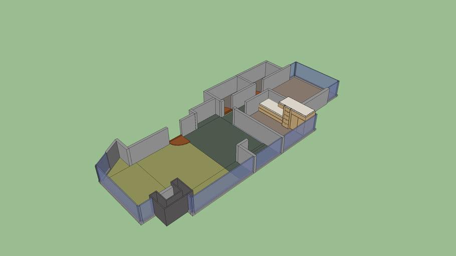Planta Apartamento  MURANO (Direito)- Torres
