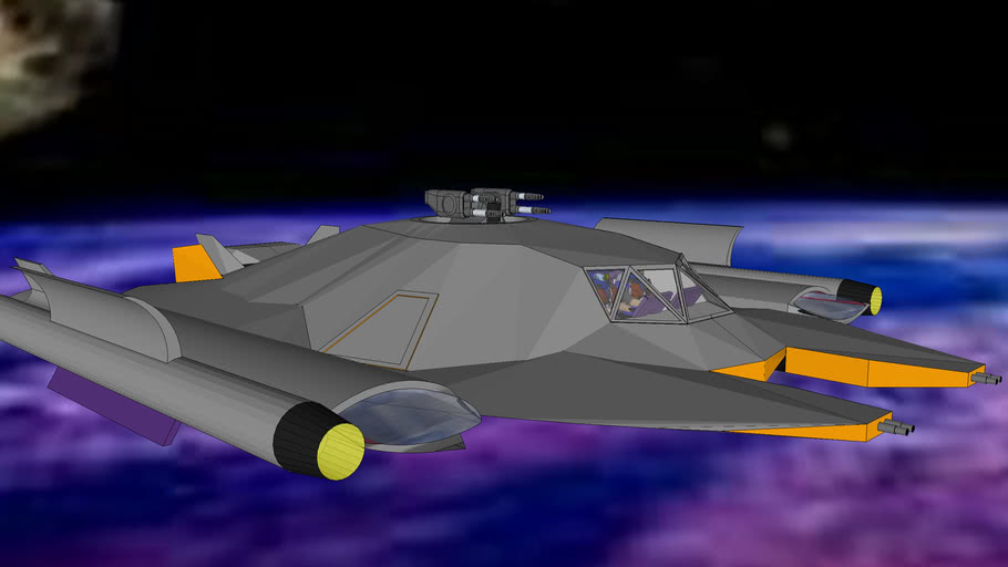 XF Rider-P2 - Space fighter class