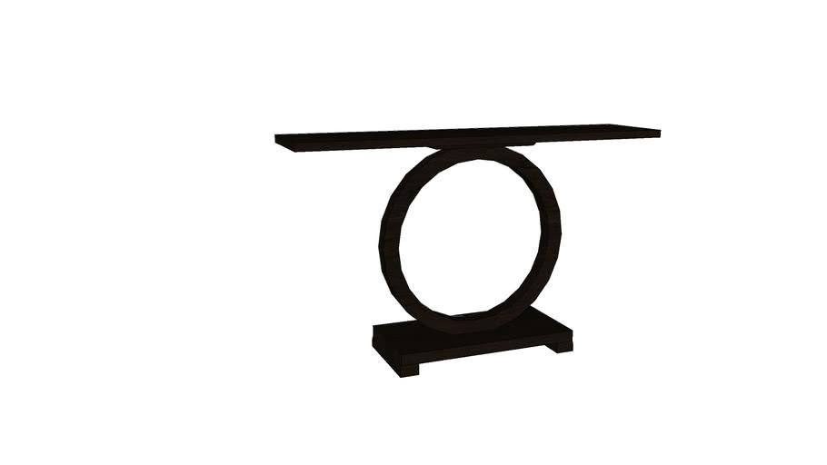 [JATRA] Parota Black Console Table