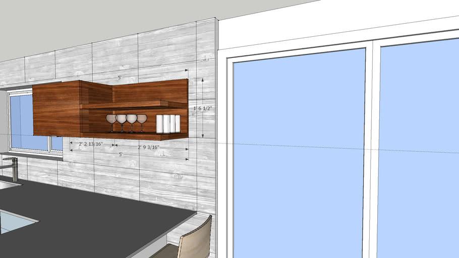 Ralston Kitchen - upper cabinet ideas April 5/13
