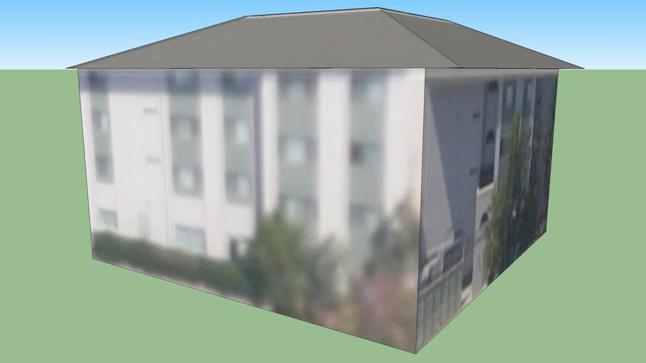 Building in Downey-Norwalk, CA, USA