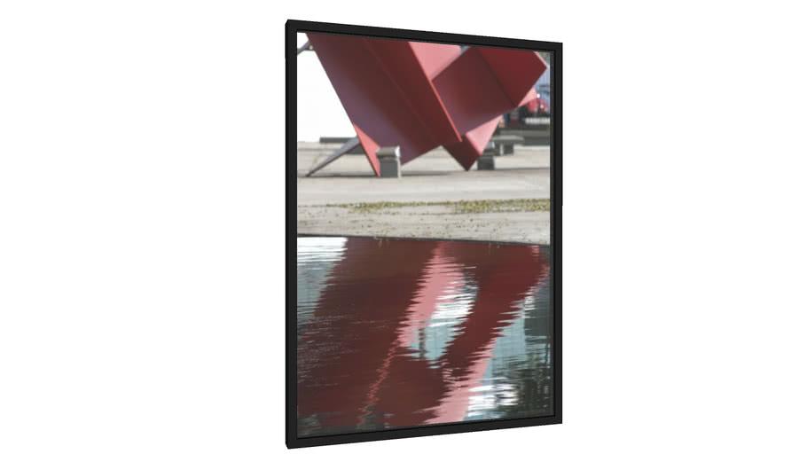 Quadro Reflexo - Galeria9, por Jaime Bregantin