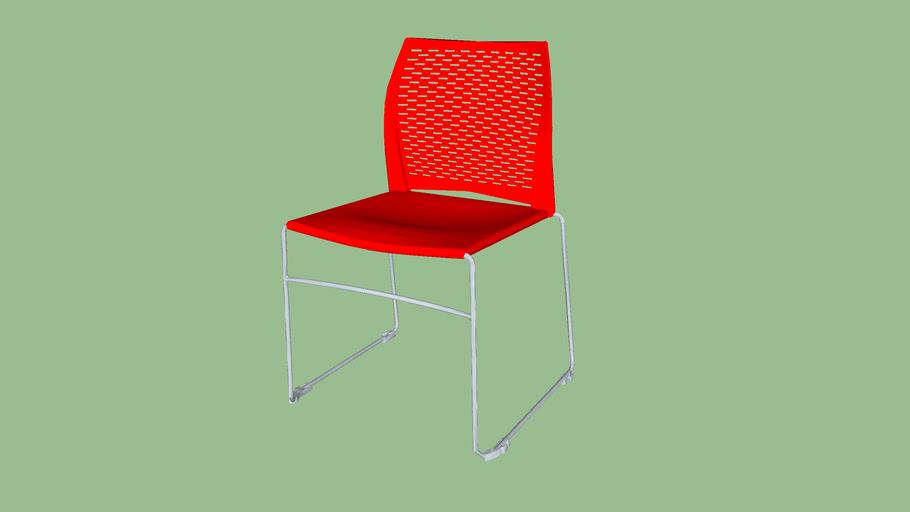 Network - Sled Base Chair - Model 1945