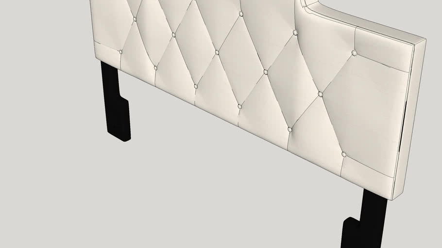 Belmac Adjustable Upholstered Panel Headboard