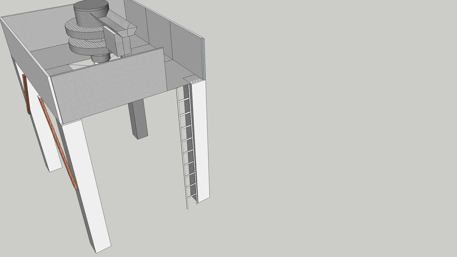 Ishida Scale on stand without stairs