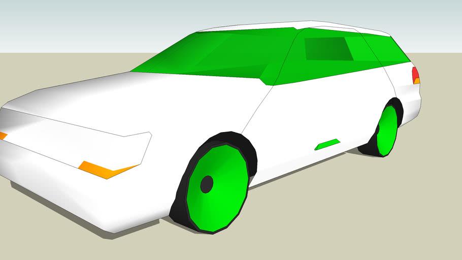 Futuristic Google Estate car