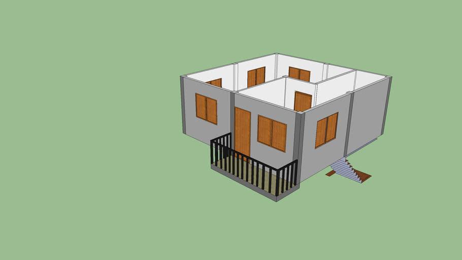 model บ้านชั้นบน
