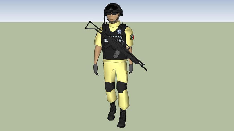 policia estatal de coahuila