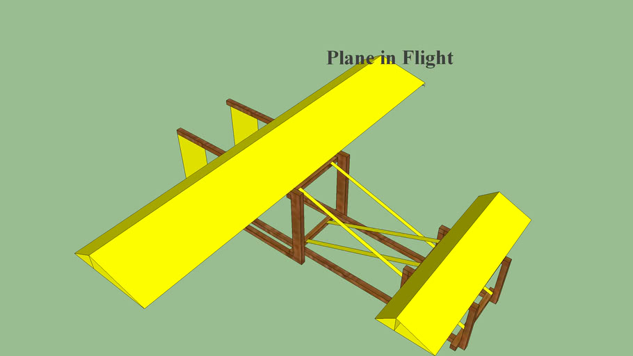 Origami Wright Flyer Design