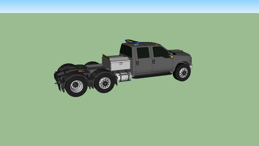 Camion Tracteur Convoi Exceptionnelle