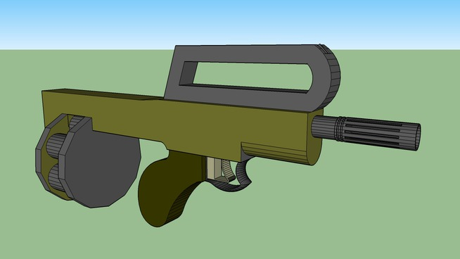 M46 Fully Automatic shotgun