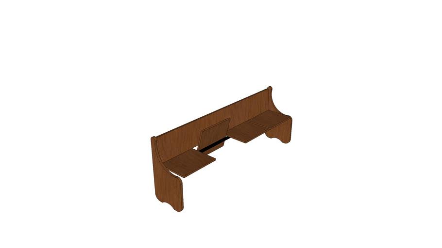 ספסל מתקפל Bench folding