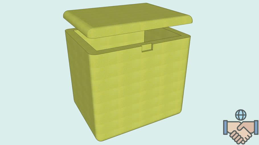 Caixa de Isopor 45 l
