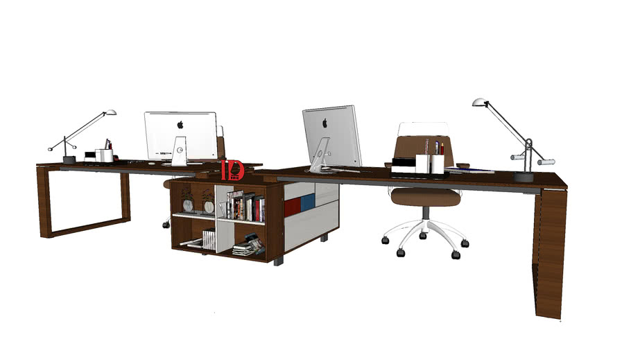 office desk by IDunic