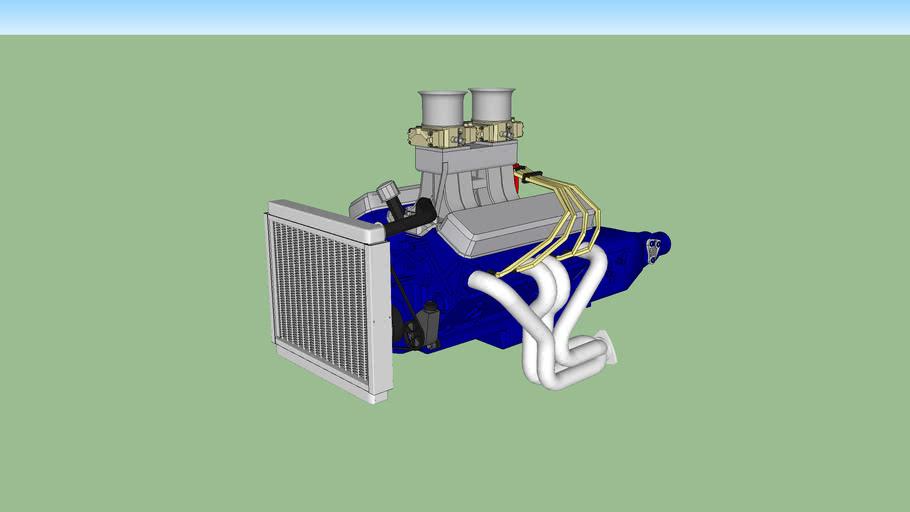 Sbc 550hp Street/Strip Crate Motor