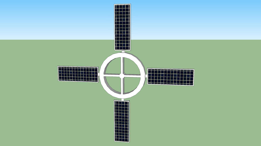 Space/Solar-Panel bracket