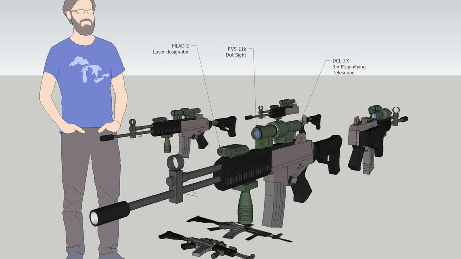 K2C1 Assualt Rifle , ST & Motiv , KOREA