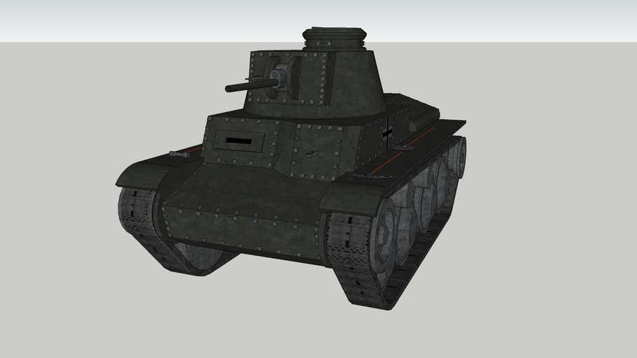 Pz.Kpfw. 38 (t) Ausf. A.