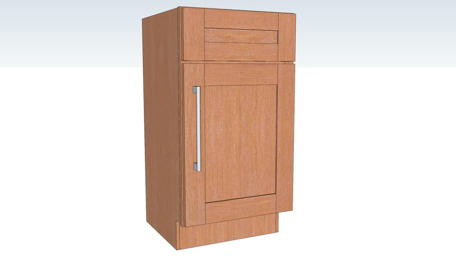 Vanity Sink Base Single Door DRPD