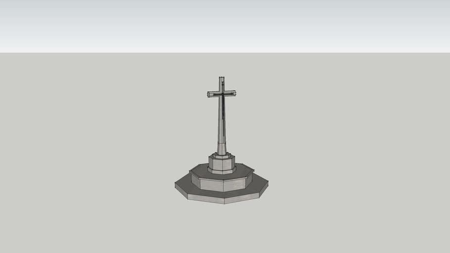 the cross of sacifice at Sai Wan War Cemetery