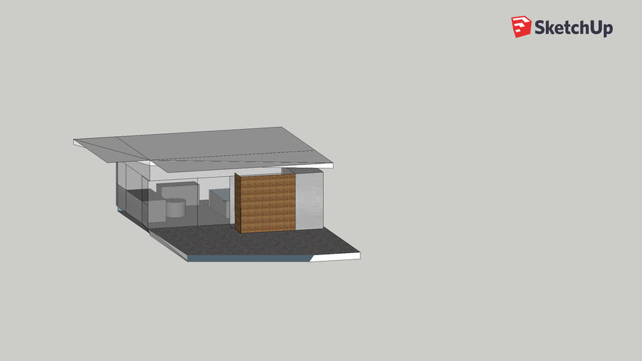 Pool House Model