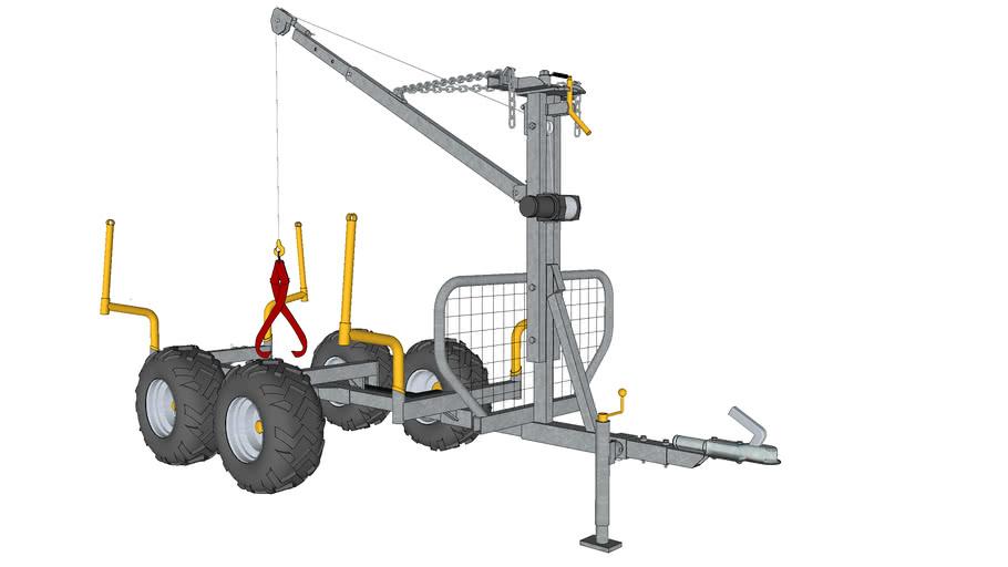 ATV timbertrailer - cargobed