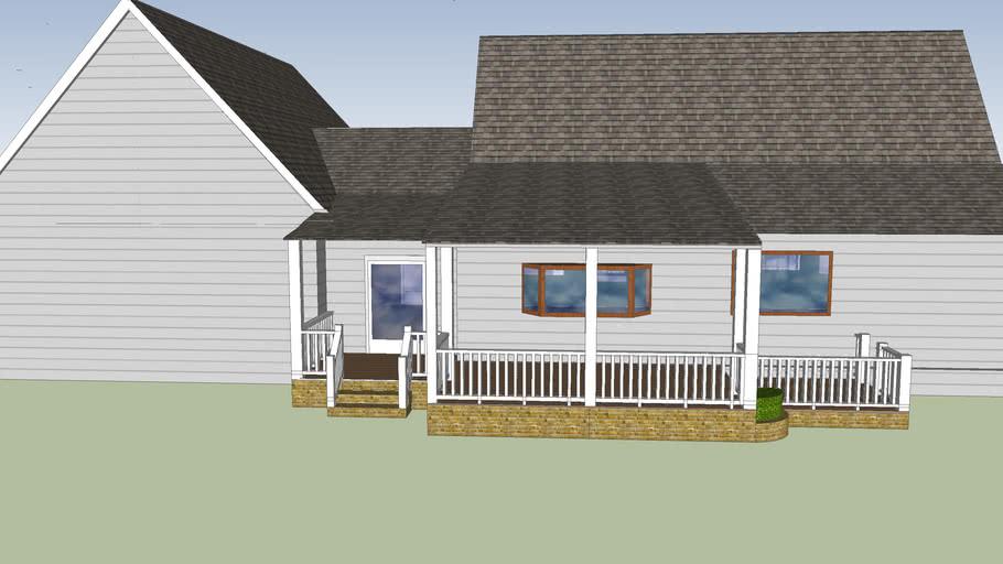 Simple Modern Ranch Design