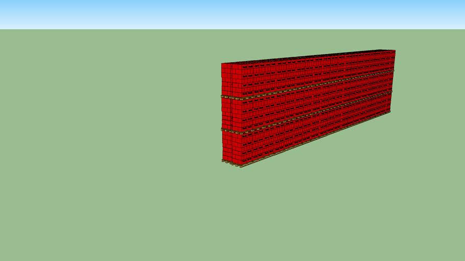 2x 20 Reihen Blocklagerung