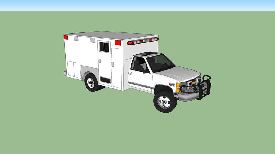 ambulance type l chevrolet silverado model 1997