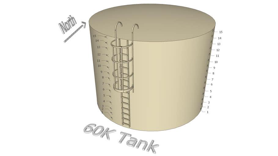 60K gallon Tank