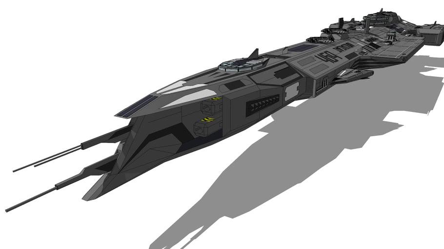ICF-BC469 - 'Infinitum' Battlecruiser