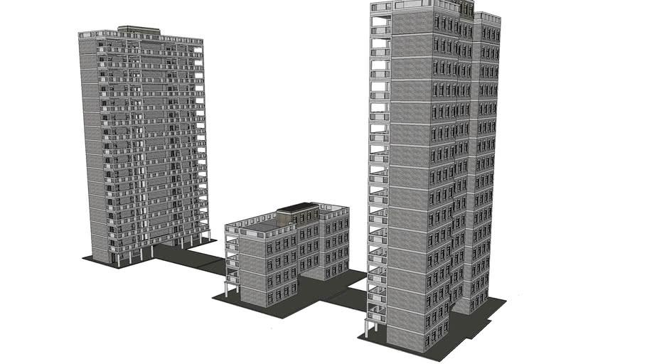 Blocks of flats By Grim