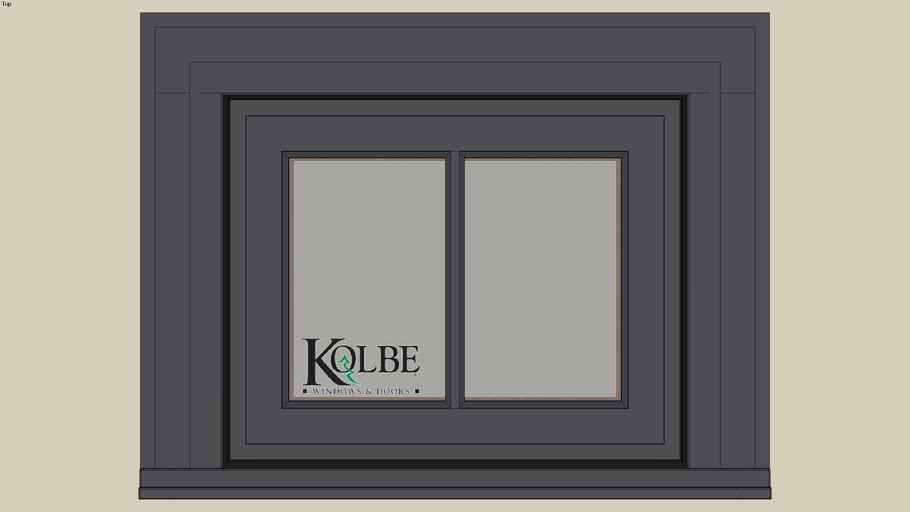 "Kolbe Ultra Double Hung Rectangular Transom UDHT1612(F.S. 1'-9 1/2"" x 1'-5 1/2"" R.O. 1'-10"" x 1'-6"")"
