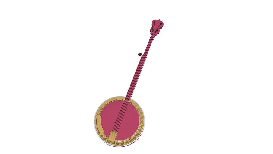 Banjo, musical instrument