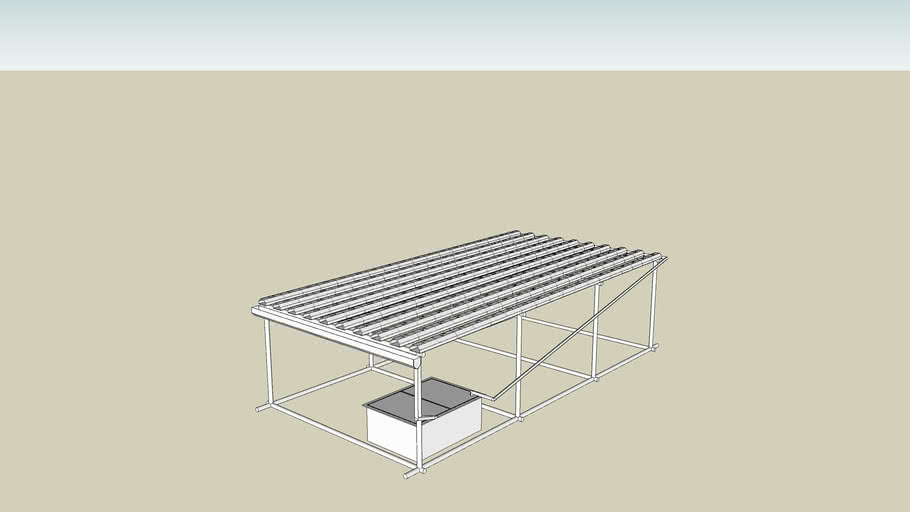 Hydroponic NFT System 180 sites