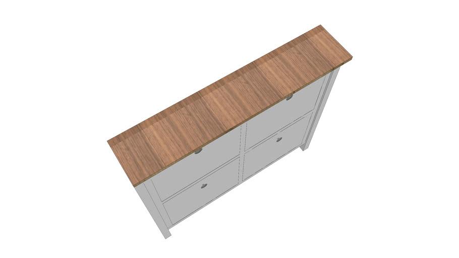 HEMNES shoe cabinet IKEA with   wood