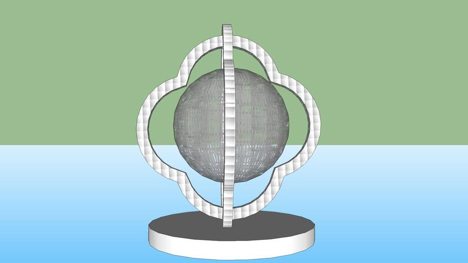 Arabesque globe