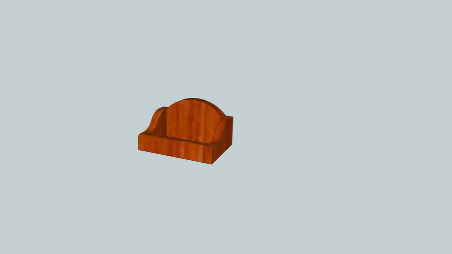 Wood Business Card Holder