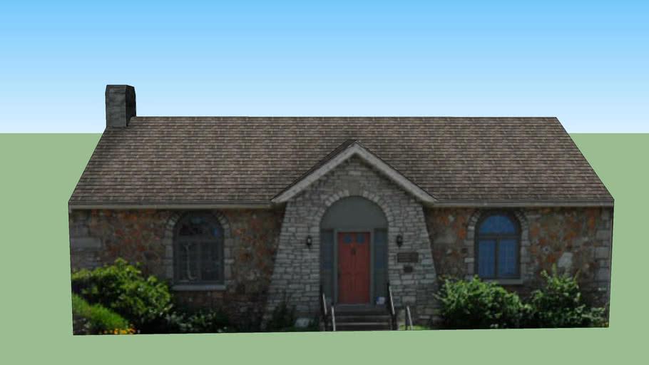 Building in Hodgenville, Kentucky