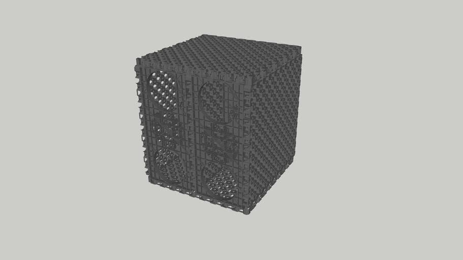 Pluvial Cube (Single Heavy Duty Module)