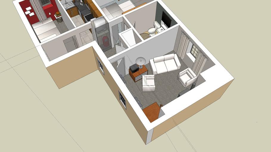 small flat/apartment